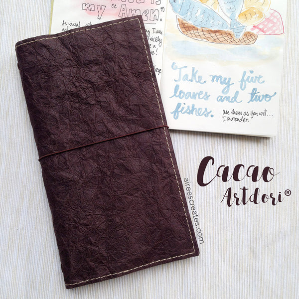 ArtDori® - Gutsy® Travelers Notebook COVER ONLY (Cacao)