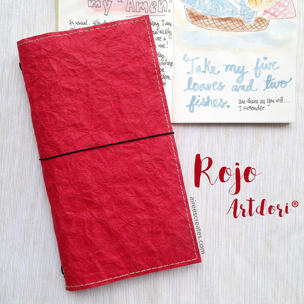 ArtDori® - Gutsy® Travelers Notebook COVER ONLY (Rojo)