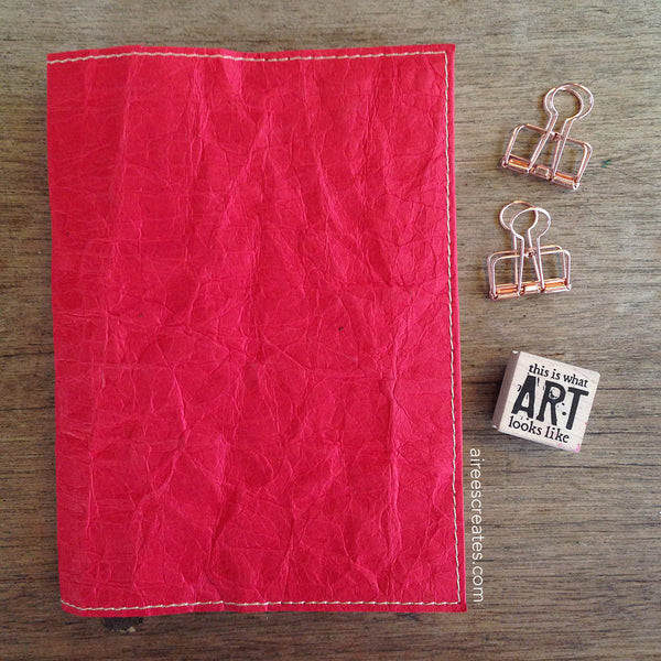 Gutsy® Cover for Hobonichi - Rojo