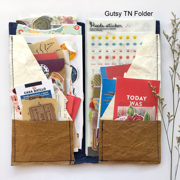 TN Folder - Standard Size (Traveler's Notebook Folder Insert)