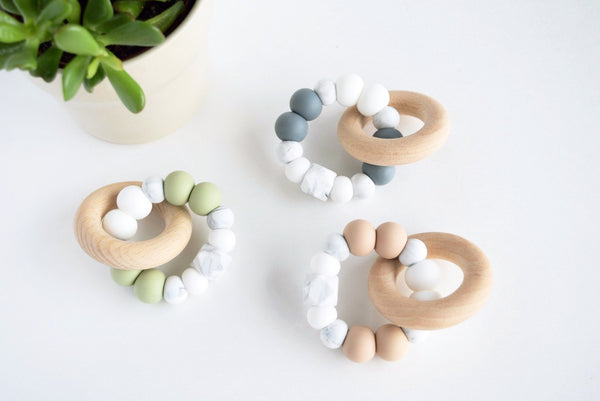 Marble Teether - Grace and Parker