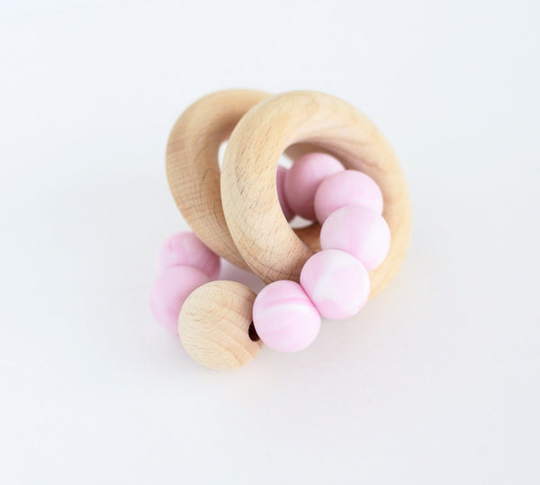 Basix Teether Rattle - Grace and Parker