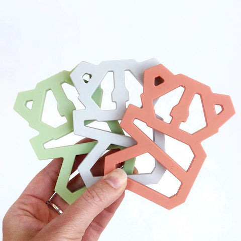 Geometric Koala Teether - Grace and Parker