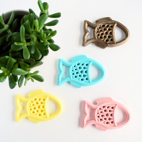 Fish Teether - Grace and Parker