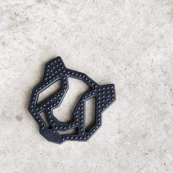 Geometric Panda Teether - Grace and Parker