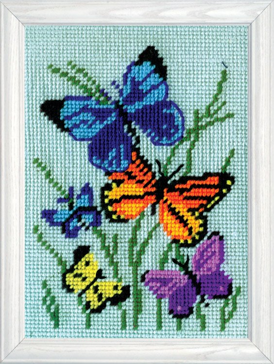 Butterfly Needlepoint Kit