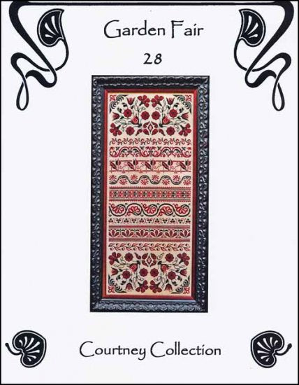 Garden Fair Cross Stitch Pattern