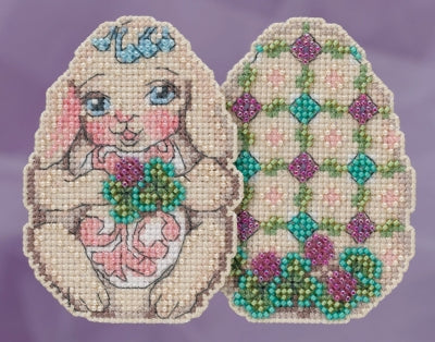 Bunny Egg Counted Cross Stitch Kit