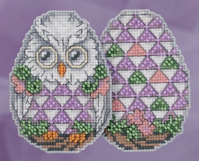 Owl Egg Counted Cross Stitch Kit