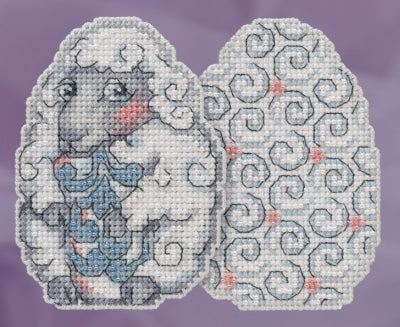 Sheep Egg Counted Cross Stitch Kit