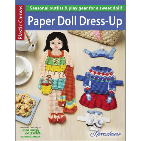 Leisure Arts-Paper Doll Dress-Up
