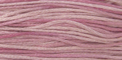 Weeks Dye Works 6-Strand 1137 Rose Quartz