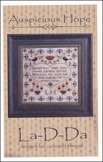 Auspicious Hope Cross Stitch Pattern
