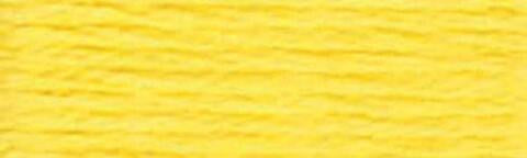 0307 Lemon  - DMC Pearl Cotton Size 3