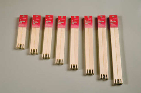 "Regular Stretcher Bars (20 sizes) 3/4"" wide"