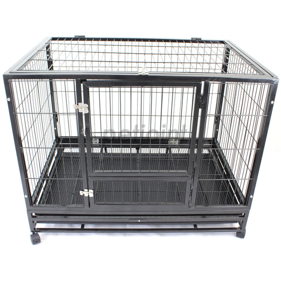 Heavyduty Pet Dog Crate Cage Super Strong Metal Tube Frame