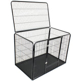 "48"" XXL HeavyDuty Pet Crate Whelping Box Pen with Roof"