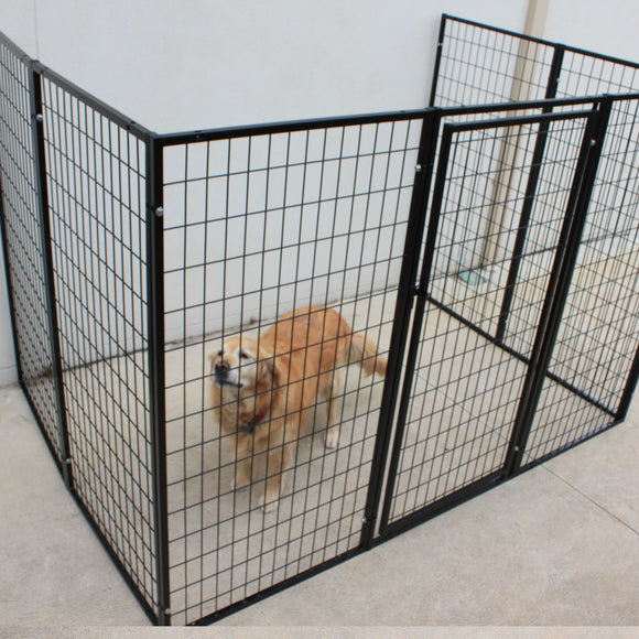 Dog Fence 8 Super Heavyduty Fencing Panels Wall Attachable