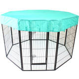 8 Panel XL Large Pet Puppy Dog PlayPen Exercise Cage Fencing HeavyDuty - PetJoint