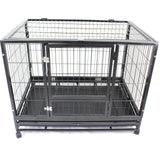 "48"" XXL Heavy-Duty Metal Pet Cage Crate Kennel House Dog Cat Hamster - PetJoint"