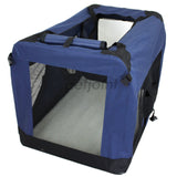 Pet Soft Crate Portable Puppy Dog Cat Carrier Travel Cage Large #2