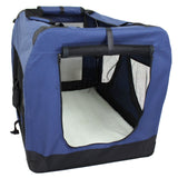 Pet Soft Crate Portable Dog Cat Carrier Travel Cage Kennel - XXL