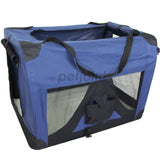 Pet Soft Crate Portable Dog Cat Carrier Travel Cage Kennel - XL