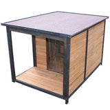 Extra Large Dog Kennel With Balcony For Medium to Large Breeds - PetJoint