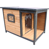 Large Pet Kennel With Balcony Veranda For Medium Dog Breeds - PetJoint