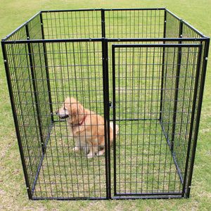 Super Heavyduty Dog Pen 8 Panels Extra Extra Large Crate Cage - PetJoint