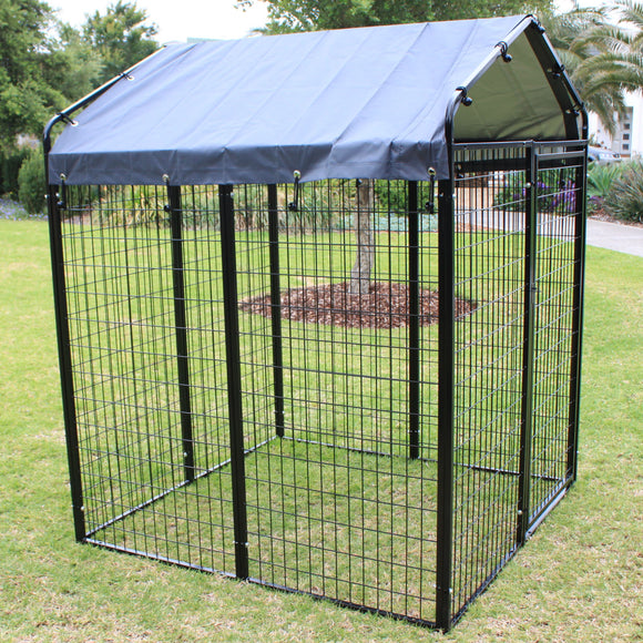 Super Heavyduty Dog Pen Run with Waterproof Cover and Frame - PetJoint