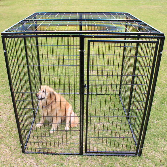 10 Panel Heavy Duty Escape Proof Pet Enclosure 1.5x1.5x1.5m