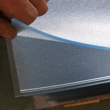 Heavyduty PVC Clear Frosted Mat for Pet Pens Enclosures 1.6m x 1.6m