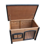 Small Dog Kennel Wooden House for Maltese Shih Tzu Pomeranian