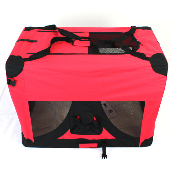 Pet Soft Crate Portable Dog Cat Carrier Travel Cage Kennel  XL - PetJoint