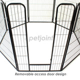 8 Panel Medium Pet Playpen Exercise Cage Fence Puppy Dog Rabbit Pig - PetJoint