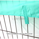 8 Panel Large Pet Puppy Dog Play Pen Exercise Cage Fence Heavy Duty - PetJoint