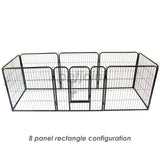 Medium Pet PlayPen Heavy-Duty Enclosure Cage Puppy Dog Fence - PetJoint