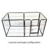 8 Panel Small Pet Play Pen Enclosure Cage Fence Puppy Dog Rabbit Pig - PetJoint