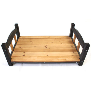 Wooden Patio for Large Peak Roof Wooden Kennel - PetJoint