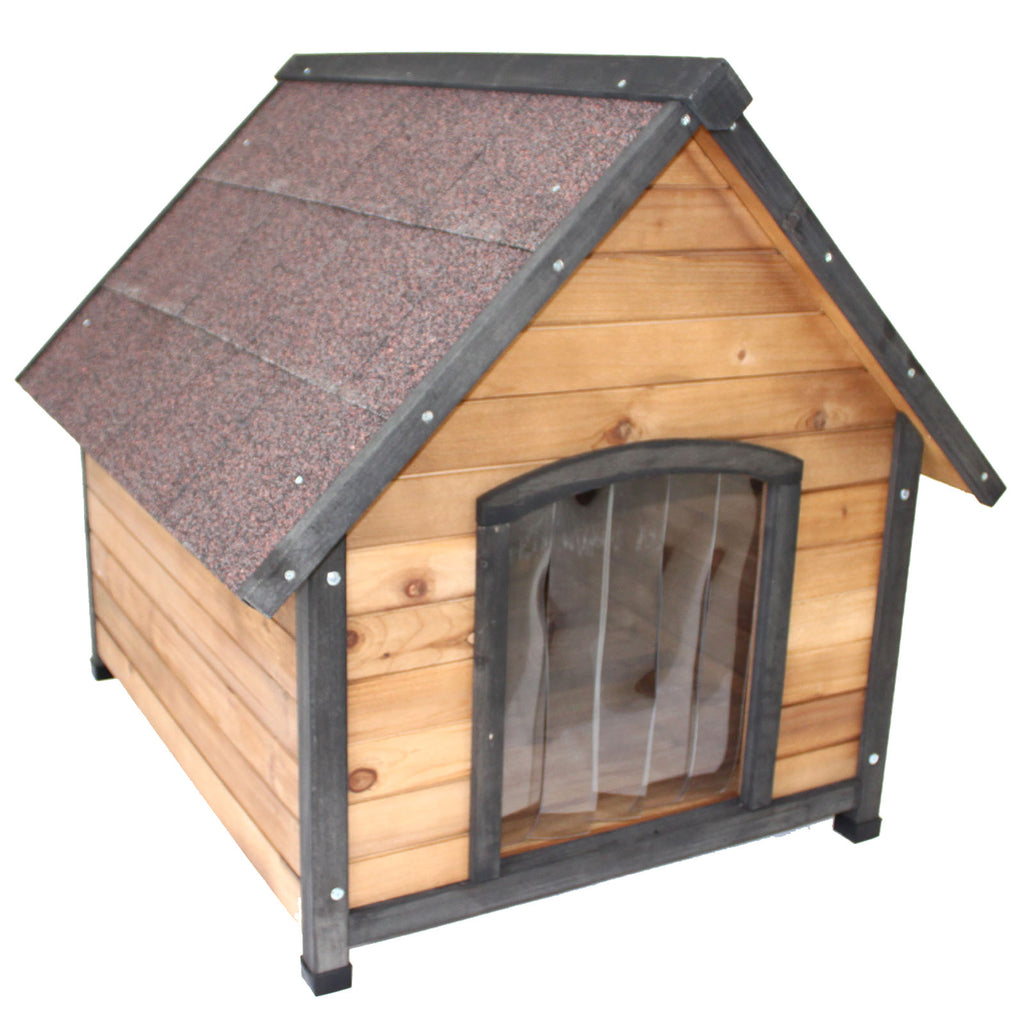 Large Wooden Dog Kennel House Indoor Outdoor Puppy Pet