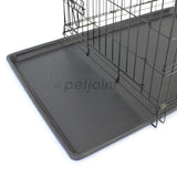 Pet Crate + Brown Waterproof Mat - Puppy Dog Cat Rabbit Hamster Kennel - PetJoint