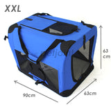 Pet Soft Crate Portable Dog Cat Carrier Travel Cage Kennel - XXL - PetJoint