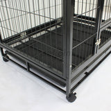 "36"" Large Heavy Duty Metal Pet Cage Crate Kennel House Dog Cat Kitten - PetJoint"