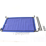 Heavy Duty Pet Dog Bed Trampoline Hammock Cat Puppy - Blue Canvas - PetJoint