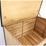 Large Wooden Pet Dog Kennel House Home - Indoor Outdoor - PetJoint