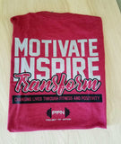 2018 Motivate Inspire Transform T-Shirt - Cardinal Red