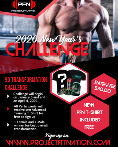 2020 New Year's 90 Day Transformation Challenge