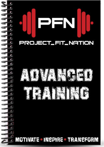 PFN Advanced Training Workout Journal