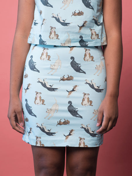 Womens Dog Skirt
